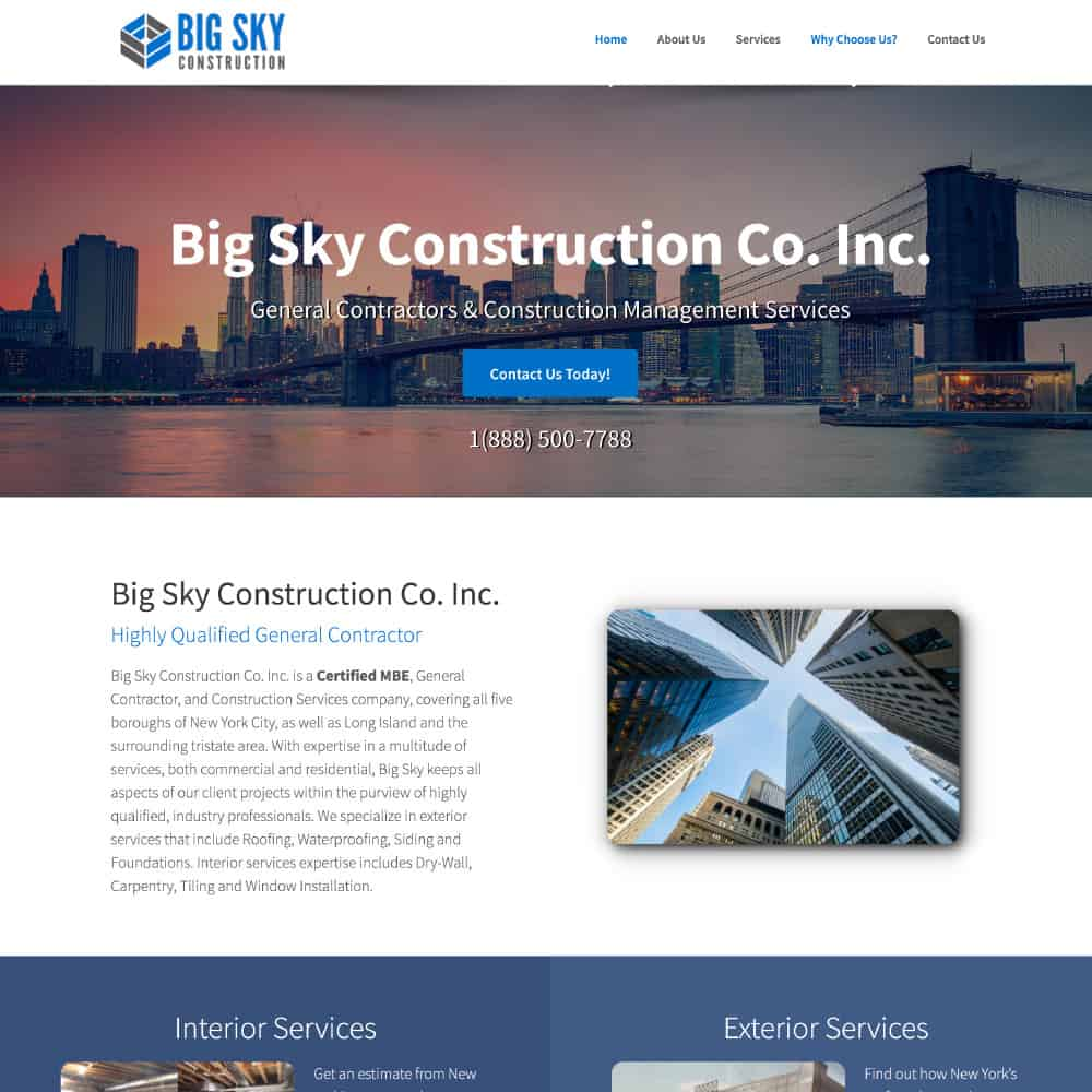 Big Sky Construction Co. Inc.